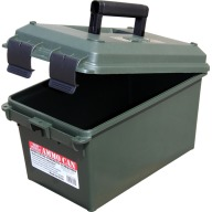 "MTM LOCKABLE AMMO CAN 9x 15.6x9""/FOREST GREEN 6/CS"