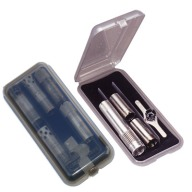 MTM CHOKE TUBE CASE LARGE 6-EXT or 9-REG/SMOKE 12/C