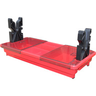 MTM Portable Rifle Maintenance Center Red