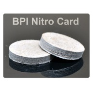 "BPI MAXI NITRO CARD 10ga .125""/.790""-Dia. 500/BAG"