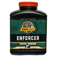 RAMSHOT ENFORCER 1LB POWDER(PISTOL)(1.4c)10/CS