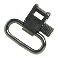 "UNCLE MIKES SWIVEL QD-SS-BL 1"" BLACK (SWIVELS ONLY)"