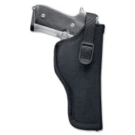 "UNCLE MIKES HIP HOLSTER BLACK 3-4"" MEDIUM AUTO LEFT"