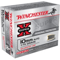 WINCHESTER AMMO 10MM SUPER-X 175gr STHP 20/bx 10/cs