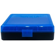 BERRY 380/9MM HINGED-TOP BOX 100-RND BLUE/BLK 50/c