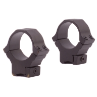 "SUN OPTICS 3/8"" DOVETAIL RINGS 1"" MEDIUM MATTE"