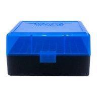 BERRY 222/223 HINGED-TOP BOX 100-RND BLUE/BLK 50/c