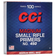 CCI PRIMER 450 SMALL RIFLE MAGNUM 1000/BOX
