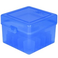 "BERRY 12ga to 3"" HINGED- TOP BOX 25-RND BLUE 50/cs"