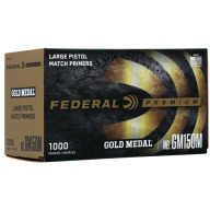 FEDERAL PRIMER LARGE PISTOL MATCH 1000/BOX