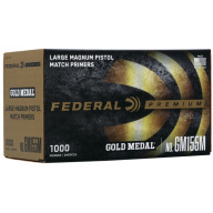 FEDERAL PRIMER LARGE PISTOL MAGNUM MATCH 1000/BOX