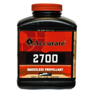 ACCURATE 2700 1LB POWDER (1.4c) 10/CS