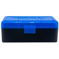 BERRY 30M1/22H HINGED-TOP BOX 50-RND BLUE/BLK 50/c