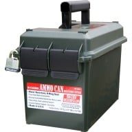 MTM 50c AMMO CAN 7.4x13.5 x8.5 FOREST GREEN 6/CS