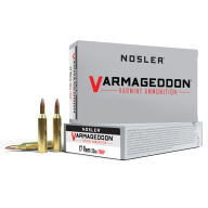 NOSLER AMMO 17 REMINGTON 20g FB HP VARMAGEDDON 20/b 20/c
