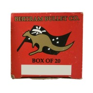 Bertram Brass 9.5x57 Unprimed Box of 20