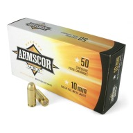 ARMSCOR AMMO 10MM 180gr FMJ 50/bx 20/cs