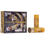 "FEDERAL SLUG 20ga 2.75"" 275gr TROPHY-SABOT 5/bx 10/cs"