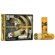 "FEDERAL SLUG 20ga 3"" 275gr TROPHY-SABOT 5/bx 10/cs"