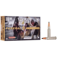 FEDERAL AMMO 308 WINCHESTER 165gr TROPHY (V/S) 20/bx 10/cs