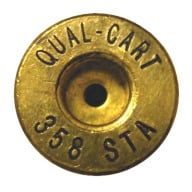 Quality Cartridge Brass 358 STA Unprimed Bag of 20