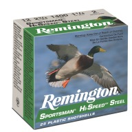 "REMINGTON AMMO 10ga 3.5"" STEEL 1500fps 1-3/8 #BB 25b 10c"