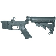BUSHMASTER LOWER RECEIVER AR15 MULTICAL w/TELESTOCK