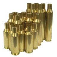 Norma Brass 224 Weatherby Mag Unprimed Box of 25