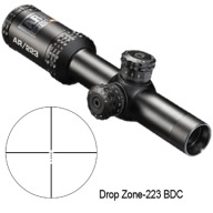 BUSHNELL 1-4x24m AR-OPTIC 30mm MATTE BDC RETICLE