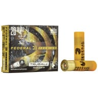 "FEDERAL SLUG 20ga 3"" 3/4oz TRUBALL HP 5/bx 50/cs"