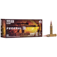 FEDERAL AMMO 223 REMINGTON 62gr FUSION MSR 20/bx 10/cs