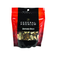 FEDERAL BRASS 9mm LUG.UNPRIME GM PREMIUM 100/bag 5/cs