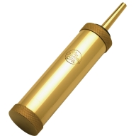 CVA RANGE CYL. FLASK 5oz w/30gr SPOUT BRASS 6/CS