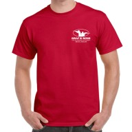 GRAF & SONS T-SHIRT RED SMALL