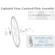 DILLON CASEFEED SPACER (41,44,45LC)