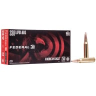 FEDERAL AMMO 338 LAPUA 250gr SOFT POINT 20/bx 10/cs