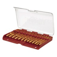 TIPTON BEST RIFLE BORE BRUSH SET BRONZE 13 PIECE