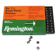 REMINGTON PRIMER 1-1/2 SMALL PISTOL 5000/CASE