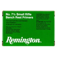 REMINGTON PRIMER 7-1/2 SMALL RIFLE BENCH REST 5000/CS