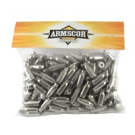 Armscor Brass 22 TCM Nickel Unprimed Bag of 200