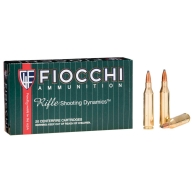 FIOCCHI AMMO 243 WINCHESTER 70gr PSP 20/bx 10/cs