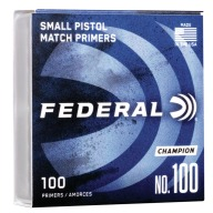 FEDERAL PRIMER SMALL PISTOL 5000/CASE