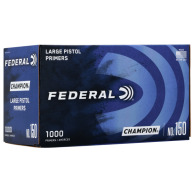 FEDERAL PRIMER LARGE PISTOL 5000/CASE