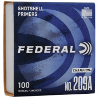 FEDERAL PRIMER 209A SHOTSHELL 5000/CASE