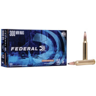 FEDERAL AMMO 300 WINCHESTER 150gr SP (P/S) 20/bx 10/cs
