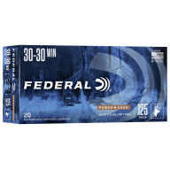 FEDERAL AMMO 30-30 WINCHESTER 125gr HP (P/S) 20/bx 10/cs