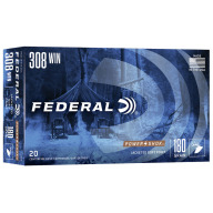 FEDERAL AMMO 308 WINCHESTER 180gr SP (P/S) 20/bx 10/cs
