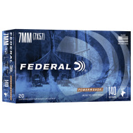 FEDERAL AMMO 7x57 MAUSER 140g SP (P/S) 20/bx 10/cs