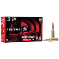 FEDERAL AMMO 7.62x51 M1A 168g AM.-EAGLE OTM 20/bx 10/cs