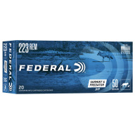 FEDERAL AMMO 223 REMINGTON 50gr JHP AM.-EAGLE 20/bx 25/cs
